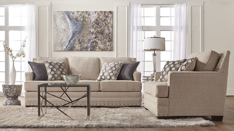 Stratus Sofa and Loveseat