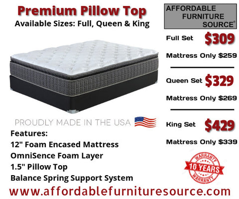 Premium Pillowtop Mattress