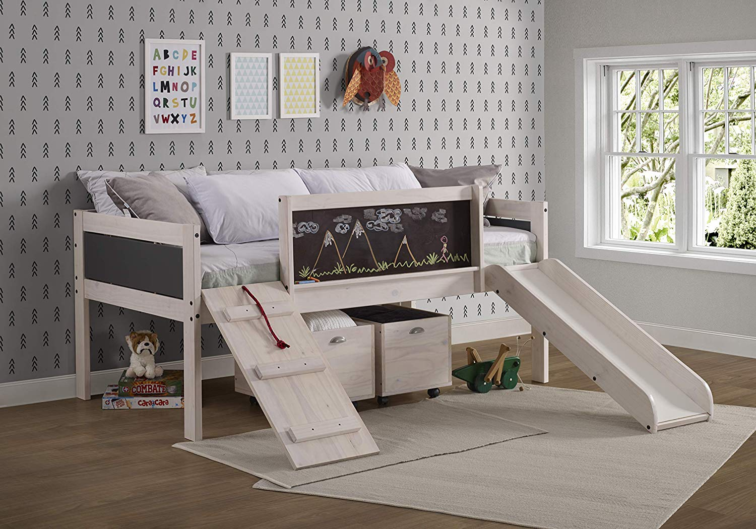 Twin Art Play Bed