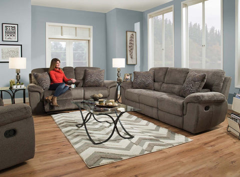 Reilly Reclining Sofa and Loveseat