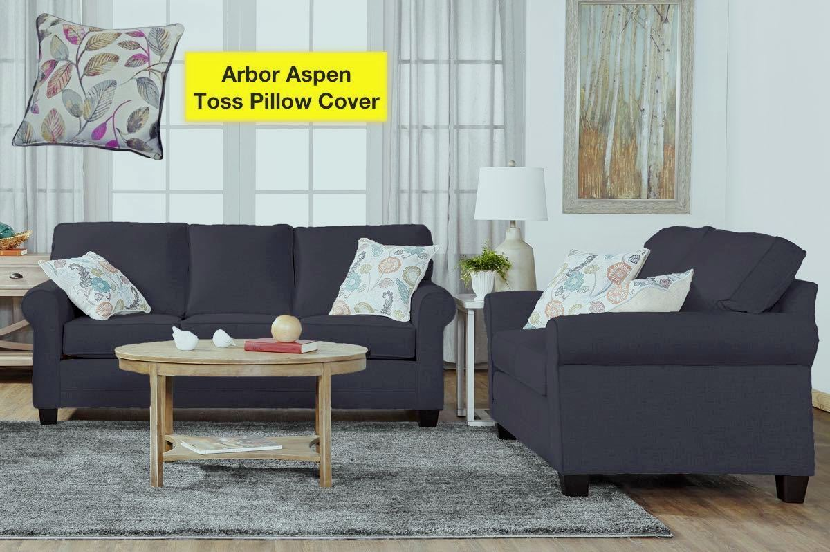 Jitterbug Grey Sofa and Loveseat