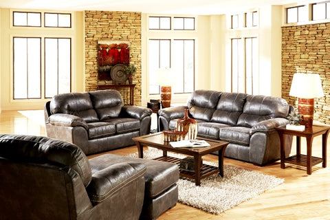 Steel Sofa and Loveseat