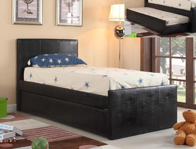 Leo Twin Bed W/Trundle