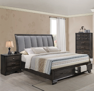 Jaymes Storage Platform 3 Piece Bedroom Set