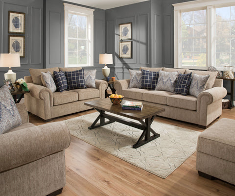Gavin Sofa and Loveseat