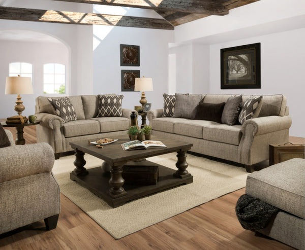 O'Connor Sofa and Loveseat
