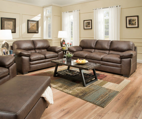 Sable Sofa and Loveseat