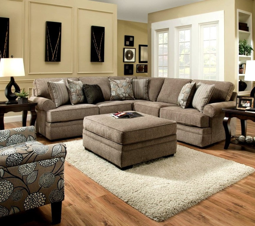 macy sectional pewter  affordable furniture source