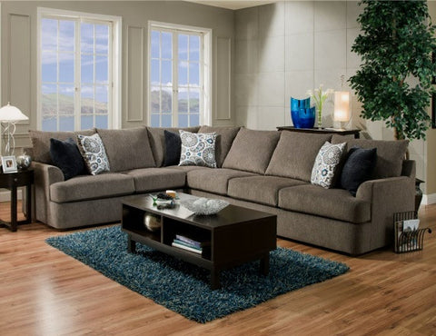 Grandstand Sectional Grey