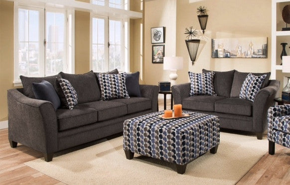Albany Sofa and Loveseat