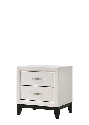 Akerson Nightstand White