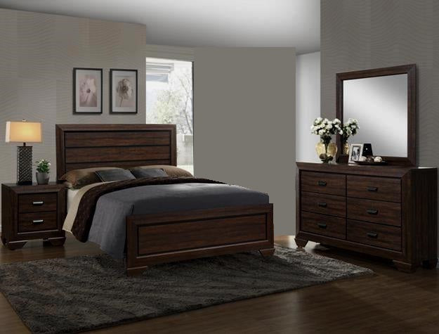 Farrow Brown 4 Piece Bedroom Set