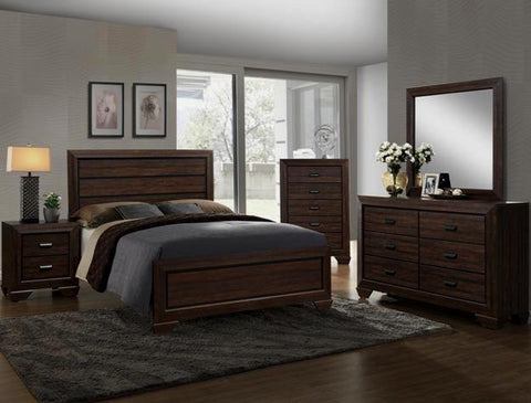 Farrow Brown 5 Piece Bedroom Set