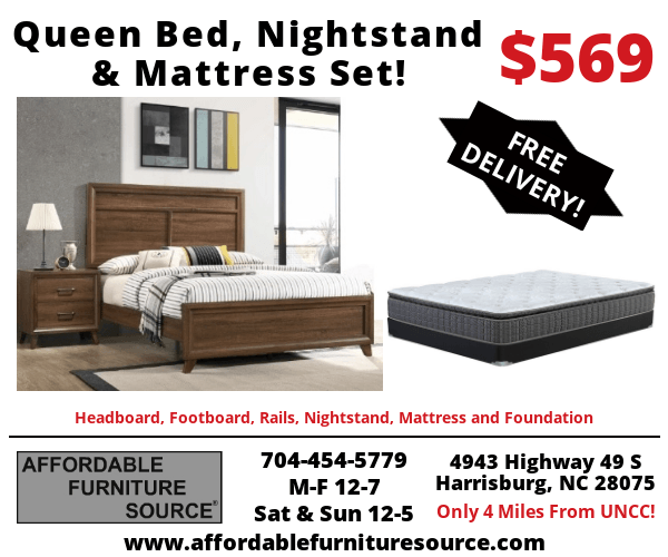 Queen Bed Package Deal #1