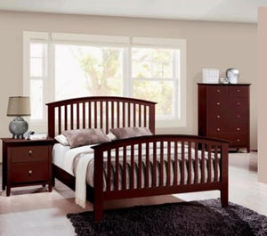 Lawson 3 Piece Bedroom Set Cappuccino