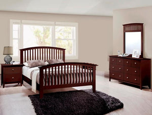 Lawson 4 Piece Bedroom Set Cappuccino