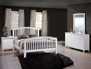 Lawson 4 Piece Bedroom Set White