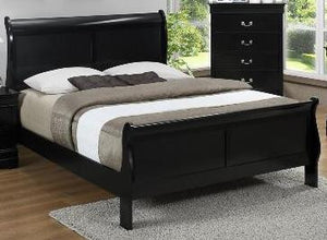 Louis Black Bed
