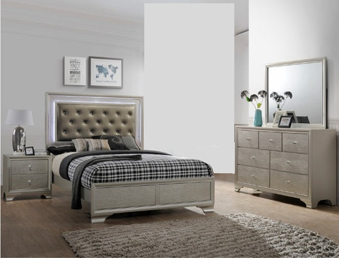 Lyssa 4 Piece Bedroom Set