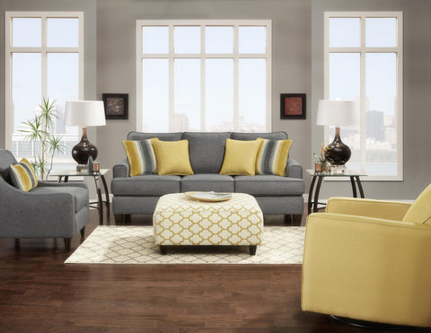 Maxwell Sofa and Loveseat