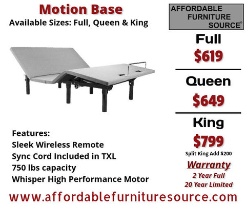 Motion Bed Base