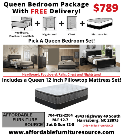 $789 Queen Bedroom Package Deal