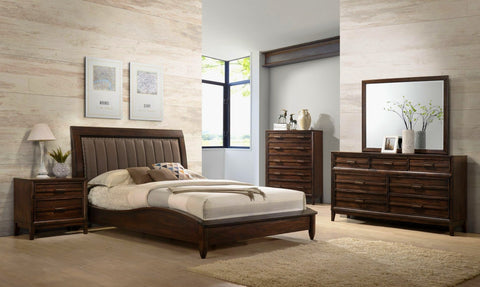 Windy Platform 5 Piece Bedroom Set