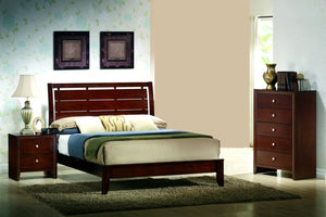 Evan Cherry 3 Piece Bedroom Set