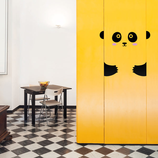 MADE OF SUNDAYS - Peppi the Panda Door Decal