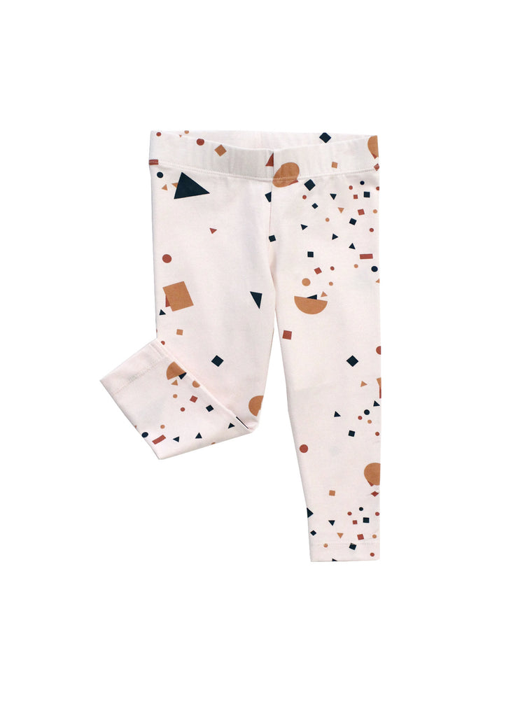 TINY COTTONS - Geometry Chat Pant / Pink + Multicolor