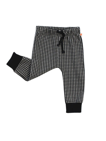 TINY COTTONS - Easy Houndstooth Pant