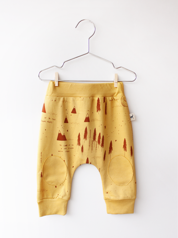 RED CARIBOU - Patch Pants / The Story + Golden