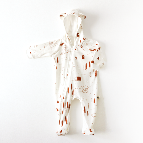 RED CARIBOU - Bear Jumpsuit / The Story + Ivory