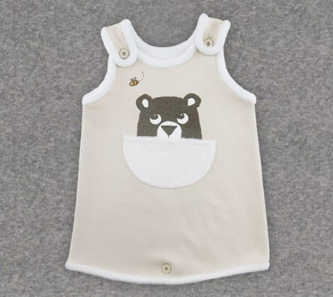 KIDS CLARA - Blanket Vest / Hidden Bear