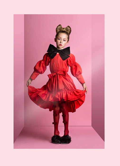 AIRFISH - Bell Dress / Red