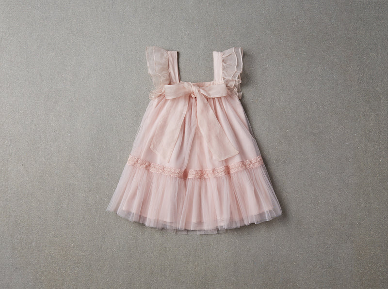 LOVE by NELLYSTELLA - Fiona Dress / Blush (LAST ONE 6Y)