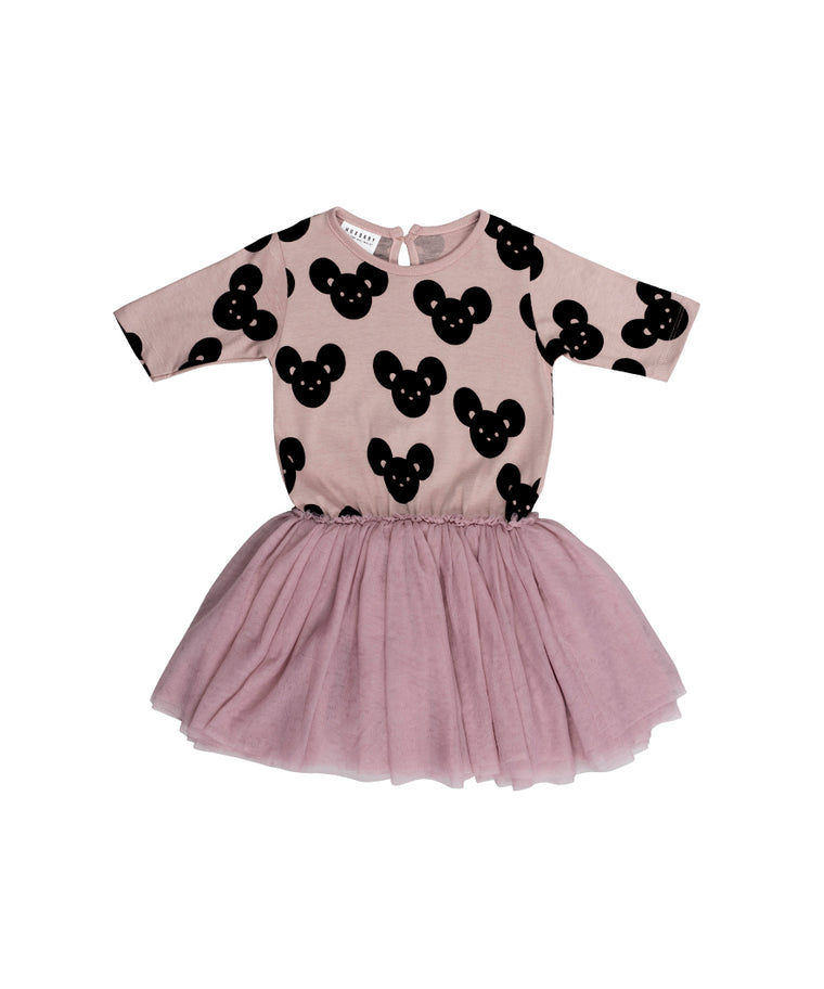 HUXBABY - Mouse Ballet Dress / Plum