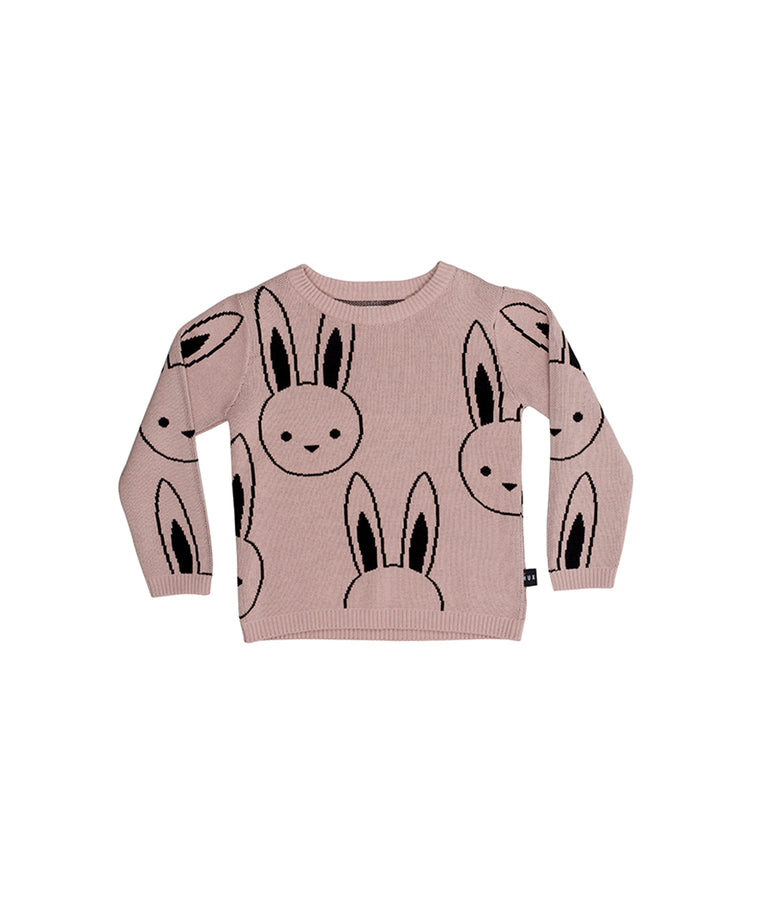HUXBABY - Bunny Knit Jumper / Plum
