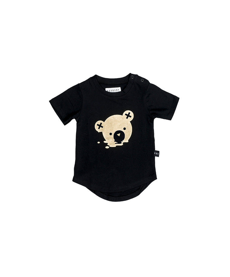 HUXBABY - Melt T-Shirt / Black