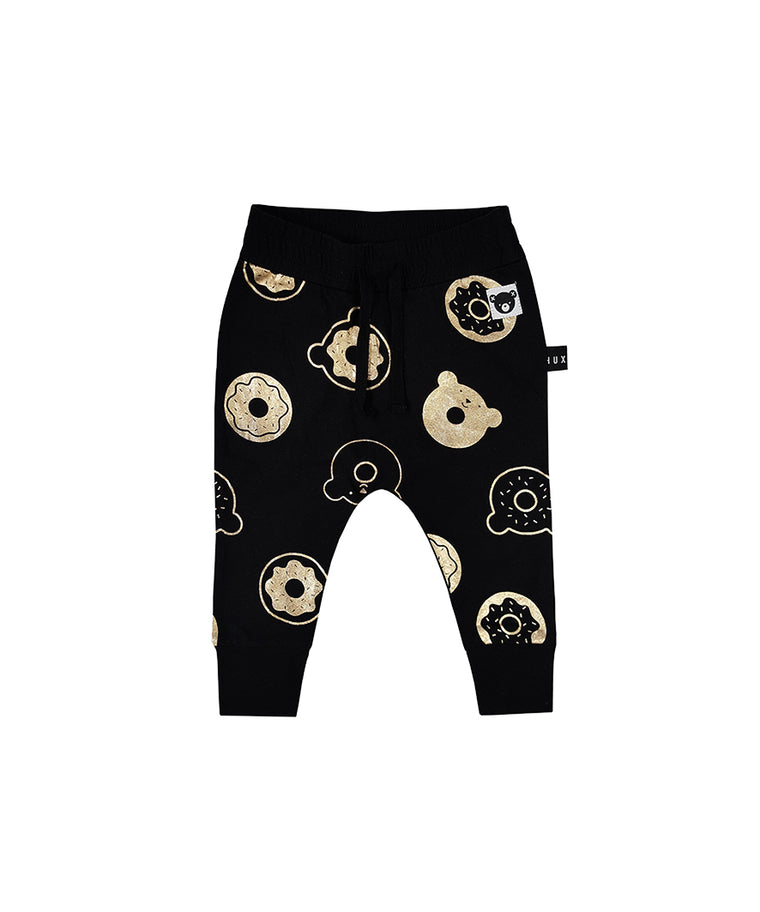 HUXBABY - Donut Drop Crotch Pant / Black
