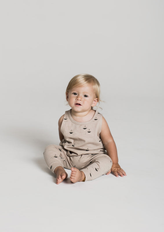 RYLEE + CRU - Sailboat Slouch Pant / Pebble
