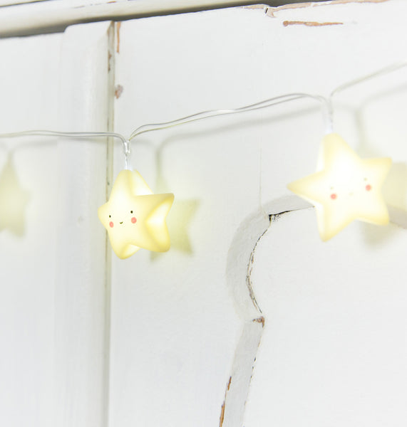 ALLC - String Lights / Yellow Stars