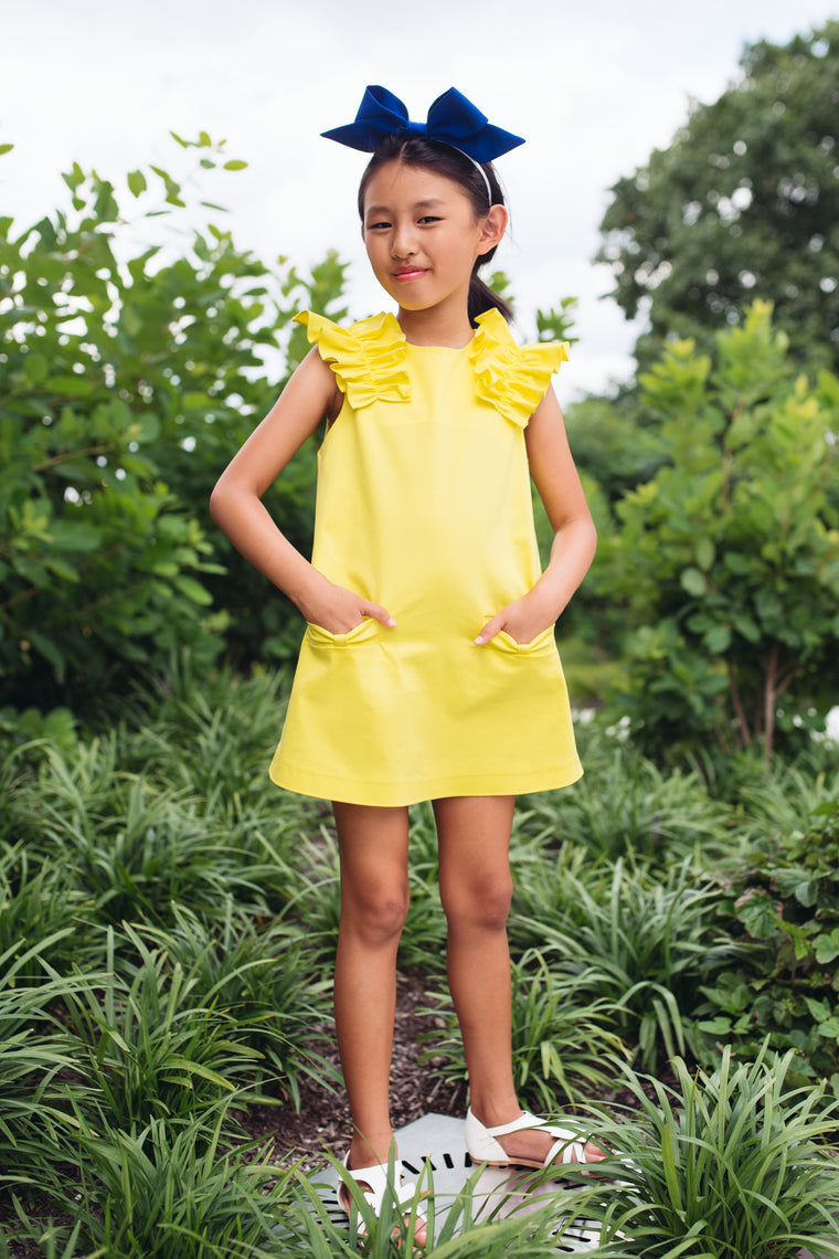MOQUE - Gianna Dress / Yellow