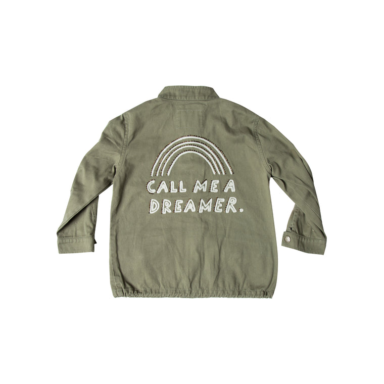 RYLEE + CRU - Dreamer Military Jacket / Olive