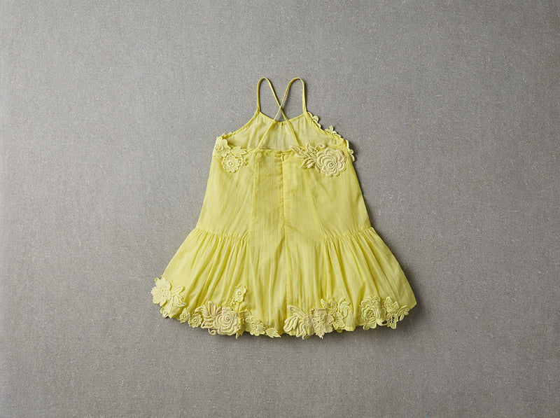 NELLYSTELLA - Monica Dress / Chartreuse (LAST ONE 1Y)