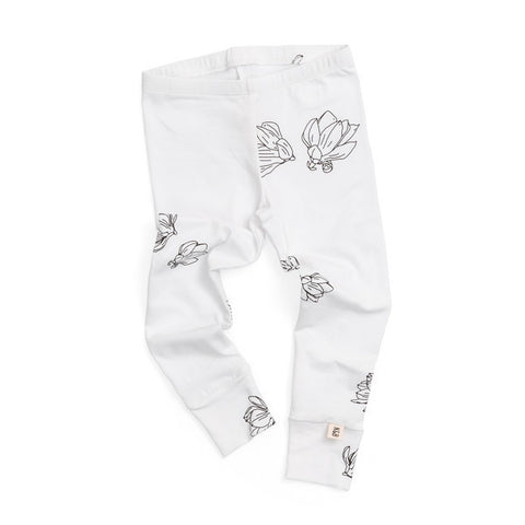 NOAH & BOWIE - Leggings / White Magnolia