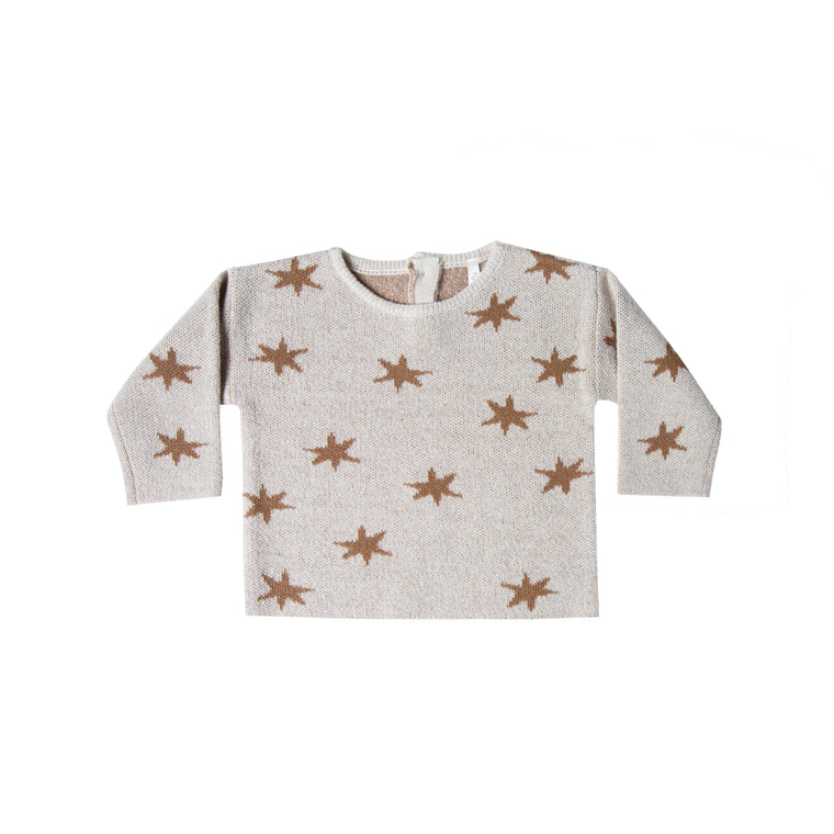 RYLEE + CRU - Starlight North Sweater / Stone
