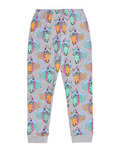 GARDNER AND THE GANG - Pete the Pony Leggings / Grey (LAST ONE 3-6M)