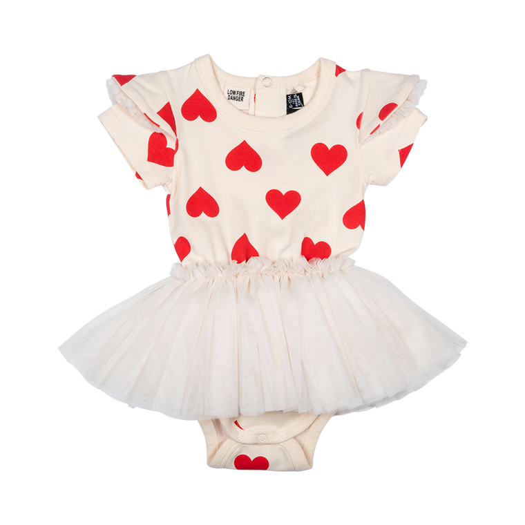 cdf55da08a34bb ROCK YOUR BABY - Sweetheart Circus Dress BABY   Oatmeal
