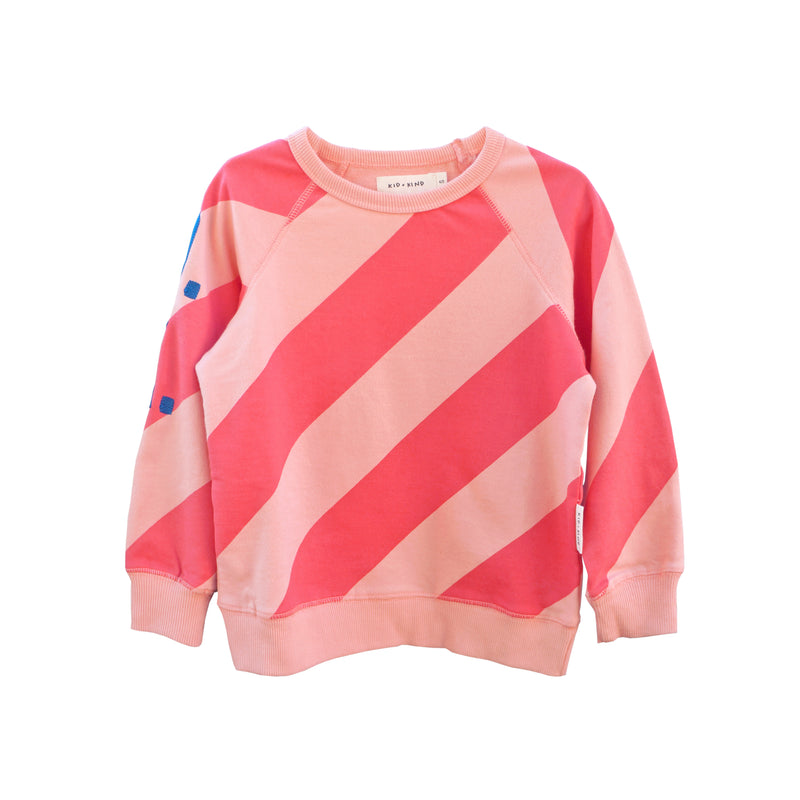 KID + KIND - Pullover / Candy Stripe (LAST ONE 12/18M)